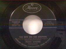 "FELICIA SANDERS ""THE BOY ON THE DOLPHIN / JOHNNY-O (KATIE-O)"" 45"
