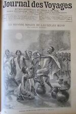 Journal des voyages # 876 of 1894 Africa mission mizon prayer muslim tekbir