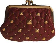 Portafogli e borsellini da donna portamonete rosso