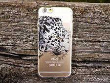 MADE IN JAPAN ** Soft Clear TPU Case Leopard Panther for iPhone 6 & iPhone 6s