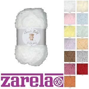 Zarela Baby Fluffy Wool Yarn 25g