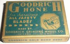 Gold Bond Hone GoodRich Safety razor sharpener STONE shaves grinding wheel co