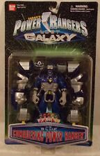 Power Rangers Lost Galaxy - Conquering Blue Ranger With Zord Armor Bandai (MOC)