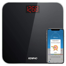 RENPHO Bathroom Scale Digital Weight with BMI-Smart Weighing Body Scale with LED