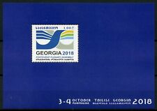 Georgia 2018 MNH PostEurop Plenary Assembly 1v M/S Postal Services Stamps