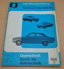 FORD Escort 1100 1300 GT Motor Getriebe Kupplung Buch Reparaturanleitung B164