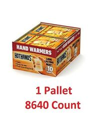 8640 HotHands HAND Warmers 1 PALLET (8640 pairs) (NOT FOR RESALE USE)