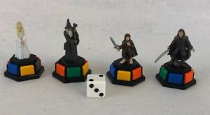 Trivial Pursuit DVD Lord of the Rings Token Movers with scoring Wedges