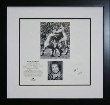 Arthur Beetson signed Micro Edition framed