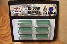 MODEL POWER  O-O27 GAUGE BENCHES 6/PKG.