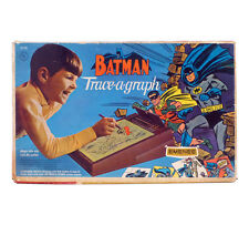 1966 Batman TRACE-A-GRAPH in BOX w/Original Tracing Pages EMENEE