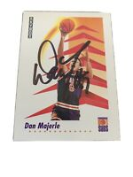 Dan Majerle autographed 1991 skybox basketball card number 228 with inscription