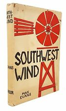 Max Evans - Southwest Wind - FIRST EDITION - Naylor Company, 1958. In Dustjacket