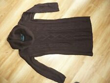Cynthia rowley Ladies Jumper Dress Size s, Pit To Pit 16 Length 30 Inch brown