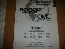 EVINRUDE OUTBOARD MOTOR BOAT ENGINE ELECTRIC OUTBOARDS Illust. parts