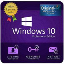 ✔️ Windows10Pro Activation Licence Key Professional ✔️ 64&32bit Genuine Key ✔️