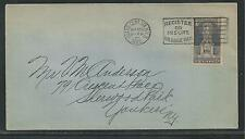 # 628 ERICSSON MEMORIAL, Five-Cent, 1926 Uncacheted First Day Cover