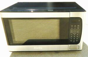 "Danby DBMW0924BBS 0.9 Cubic Foot 900W Microwave ""AS IS"""