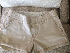 EUC Express Chino Stretch Short Shorts Size 2