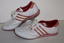 Adidas Sleek Series Trainers, #909148, White/Orange/Red, Women's US Size 7