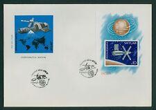 Rumänien 1974 Mi.Block 118 FDC SKYLAB,Weltraumlaboratorium,Weltraum,Sonnensegel