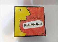 HEAR ME OUT! ~ Family Board Game~ 3-6 Players~ Ages 12 to Adult~By Toy Site~NEW~