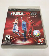 NBA 2K13 (Sony PlayStation 3, 2012) Disc and Case