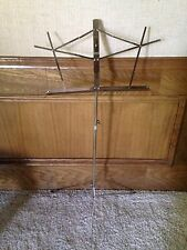 Belmonte Folding Music Stand Nickel 1050N