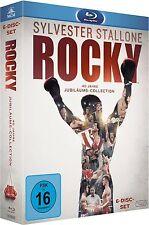 ROCKY JUBILÄUMS-COLLECTION (Rocky 1-5 + Rocky Balboa) 6 Blu-ray Discs NEU+OVP