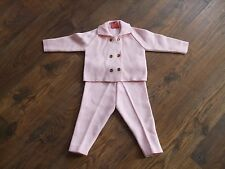BABY GIRLS FITS AGE 12-18 MONTHS VINTAGE STYLE OUTFIT BABYLON PINK POSH Winter