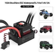 SURPASS HOBBY 150A Brushless ESC Electric Speed Controller for 1/8 RC Truck O0M8