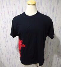 Fireball Cinnamon Whiskey Heaven and Hell Dragon Black XL T Shirt