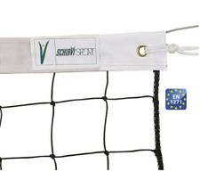 Rete volley annodata SCHIAVI SPORT esterno nero PVC cucitura pallavolo maglia