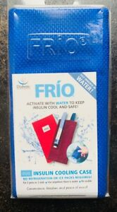 FRIO - Duo Insulin Cooling Wallet - Blue NEW