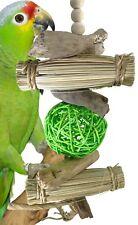 1968 Bonka Bird Toys Island Ball parrot cage toys amazon african grey conure