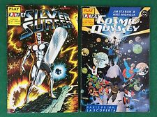 PLAY EXTRA Lotto 2 numeri 1-2 SILVER SURFER + COSMIC ODYSSEY Play press (1990)