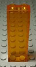 Lego Stein 1x2x5 Transparent Orange                                       (2264)