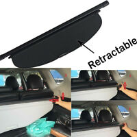 Black Retractable Trunk Cargo Cover Security Shield For 14-18 Nissan Rogue SV SL
