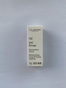 Clarins Joli Rouge Long Wearing Moisturizing Lipstick, No. 742 Joli Rouge