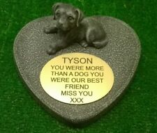 dog Large Pet Memorial/headstone/stone/grave marker/memorial with plaque ag17