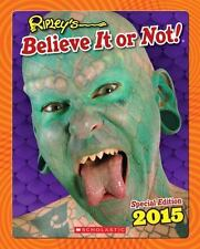 Ripley's Believe It or Not! 2015 by Ripley's Entertainment Inc Staff 2014 Book