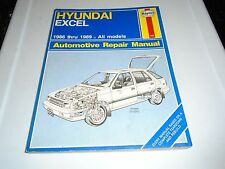 HAYNES HYUNDAI EXCEL 1986-1989 REPAIR MANUAL