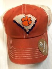cheap for discount 223d5 b46c6 TOP OF THE WORLD CLEMSON TIGERS ORANGE,BEIGE MASH BACK MEN S ADJUSTABLE HAT