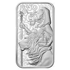 1 oz. UNA AND THE LION Royal Mint art bar .9999 fine silver