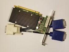 NVIDIA QUADRO NVS 300 512MB PCI-E Low Profile Video Card & Dual VGA DVI Monitor