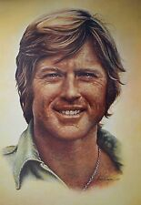The Saturday Evening Post Company Robert Redford poster stampa d'arte immagine 99x68cm