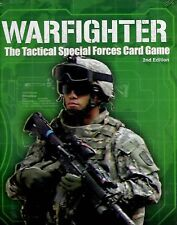 Dan Verssen Games DVG Warfighter 2nd Edition Card game New