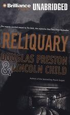 Douglas Preston, Lincoln Child * RELIQUARY * Unabridged 12 CDs *NEW* *FAST SHIP*