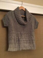 """Theory Gray Grey S """"Ilonka Paramour"""" Sweater Top Shirt  Gray"""