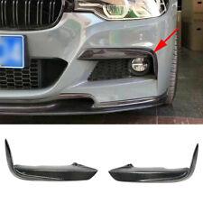Carbon fiber Front Fog Light Frame Cover Brow Fit For BMW F30 M Sport 2013-2017